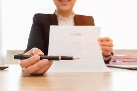 cosign a loan