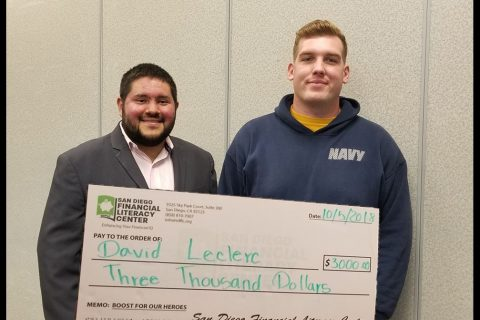 SDFLC Awards Navy Seaman $3,000