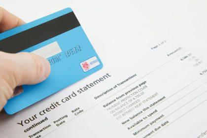 Read Credit Card Statement