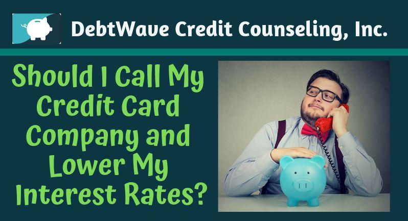 negotiate lower interest rates