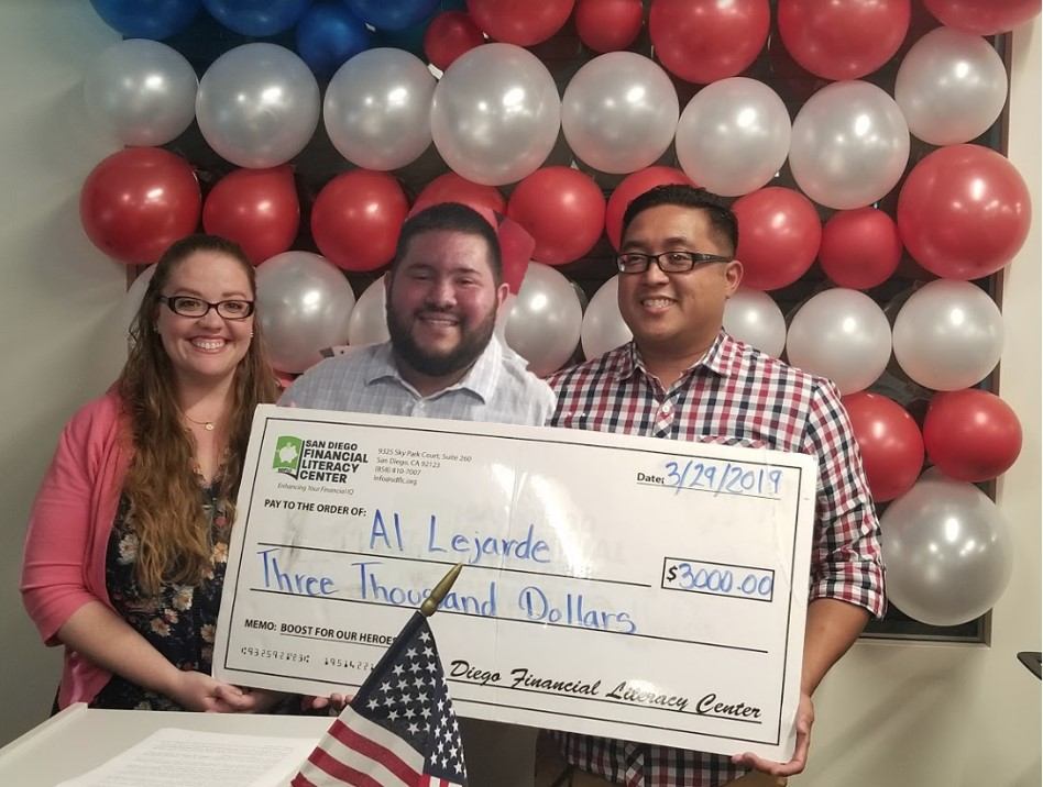 Al Lejarde Family Boost for Our Heroes